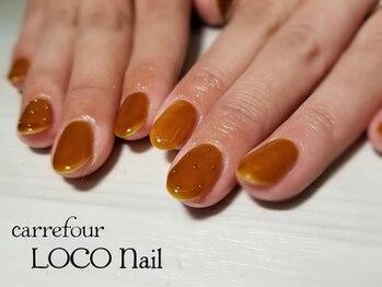 カルフール ロコ ネイル 草加西口店(Carrefour LOCO nail)/ワンカラーシンプルコース