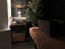 いやしのての雰囲気(壁で仕切った個室空間ですので、ゆっくり寝れますよー♪)