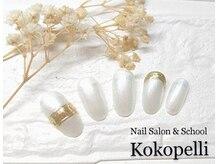 ココペリ(Nail Salon&School kokopelli)/ポイントミラーネイル