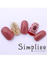 シンプリーネイル 表参道店(Simpliee Nail)/【N】自動ネイルアート¥4990