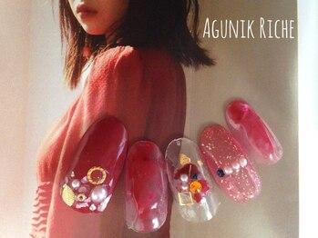 アグニークリッシェ(Agunik Riche)/【赤ネイル】