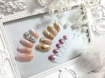 スウィートネイルズ(Sweet Nails)の写真/200種類から選べるアート定額5900円・40種類から選べるアート定額6900円からご用意しております!