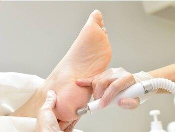 足の専門店ペディケア 横浜関内店(PEDI CARE)の写真/角質/足の爪/トラブル爪などのケアができる◎あらゆるトラブルをマシーン&ハンドテクニックでお手入れ★