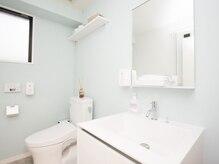 洗面台シャワー室完備!身だしなみを整えてからお出かけもOK!