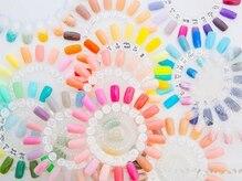 ネイルサロン アヴァンセ(Nailsalon Avance)の雰囲気(カラー多数 ジェルはmix可能。本当に似合うカラーを見つけます)