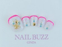 ネイル バズ(NAIL BUZZ)/定額フットネイル9800円