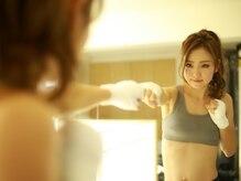F バードボクシングジムの雰囲気(静岡の女性たちの間で憧れBODYが手に入ると話題に!)