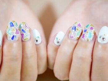 nail salon PISAR_デザイン_01