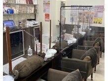 ヴィーナネイル 呉店(VinaNail)の雰囲気(【ハンド席】4席あります♪コロナ対策でガードもしております)