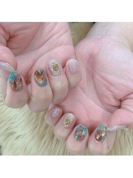 ネイルアンドビューティー 凛空(nail&beauty link)/天然石×エスニック