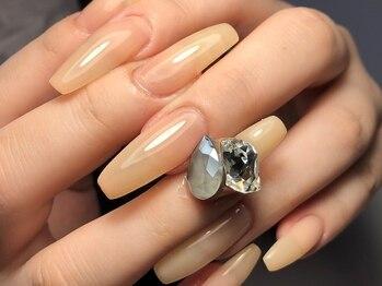アンク(AnK)の写真/【ジェルスカルプ1本¥770~】深爪や折れてしまったお爪、亀裂補強もジェルスカルプでしっかりと美爪に!!