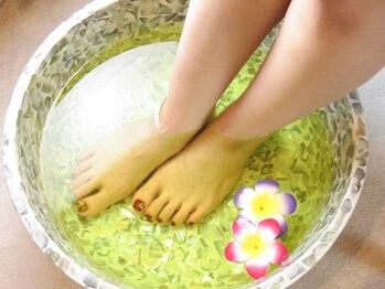 ビューティー アンド ヘルシー ラボ ミエラ(Beauty&Healthy Labo MIERA)/★足浴で身体ポカポカ★