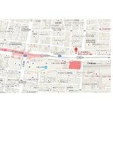 上本町駅・鶴橋駅から徒歩5分。アクセスしやすい立地