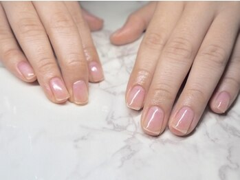 ネイルアトリエ ポボン(nail atelier POBON)の写真/【自爪育成コース】深爪が直らない…恥ずかしくて人には相談しづらいという方に◎爪のトラブルを改善◎