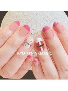 ピンクマジック(PINKMAGIC)/クリスマスネイル