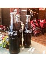 昔懐かし、瓶のコカ・コーラ!