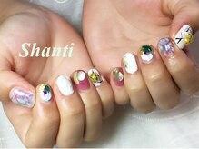 シャンティ ネイルサロン(Shanti nail salon)/個性派ニュアンスネイル♪