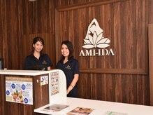溶岩ホットヨガスタジオ アミーダ おのだサンパーク店(AMI-IDA)/2.丁寧に接客いたします♪