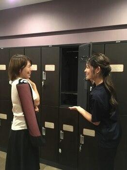 溶岩ホットヨガスタジオ アミーダ おのだサンパーク店(AMI-IDA)/3.ロッカールーム完備★
