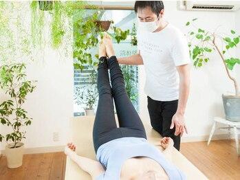 松山美容整体院の写真/スッキリ脚でパンツをキレイに履きこなす♪30代の大人女性から支持有!健康的&キレイな身体を作りましょう☆