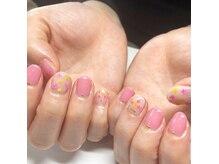 ネイルサロン ベイビーズ(Nail Salon Beybe's)/・*ピンク・ドライフラワー*・