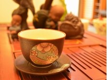 美味しいそば茶をご用意しております^_^