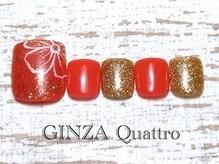 ギンザ クワトロ(GINZA Quattro)/Foot LuxuryA/8500円/オレンジ