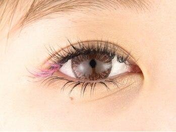 リーフオレンジアイラッシュ(leaf orange eyelash)の写真/【コーティング付★100本¥3180/本数無制限(上)¥4780】他店オフ込!!長さ太さカールは多数の種類から選択OK♪