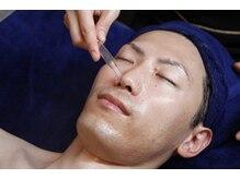 ダンディフェイス(DANDY FACE)の雰囲気(男の顔に特化した豊富なメニュ。最新の機材を使用。男顔すっきり)
