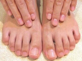 ネイルケア専門店エムズネイルの写真/諦めないで!爪の改善&育成で、健康的な爪を手に入れませんか?深爪や足の巻爪など、お悩みの方必見。