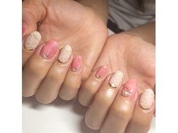 ネイルサロン ベイビーズ(Nail Salon Beybe's)/・*春色ママネイル*・