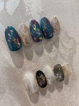 ケーオーエス(KOS)/coming of age ceremony nail