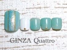 ギンザ クワトロ(GINZA Quattro)/Foot LuxuryA/定額8500円/ブルー