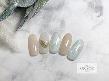 グレース ネイルズ(GRACE nails)/ミラーネイル