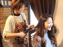 ラッシュアンドヘアサロン アイ(lush&hair salon AI.)の雰囲気(イベントや結婚式前等のヘアセットもお任せください♪)