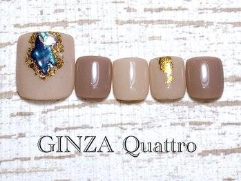 ギンザ クワトロ(GINZA Quattro)/Foot LuxuryA/8500円/ベージュ