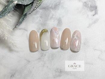 グレース ネイルズ(GRACE nails)/タイダイネイル