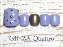 ギンザ クワトロ(GINZA Quattro)/Foot LuxuryA/8500円/パープル