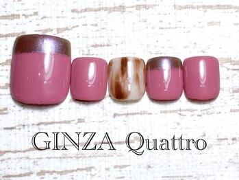 ギンザ クワトロ(GINZA Quattro)/Foot LuxuryA/定額8500円/ピンク