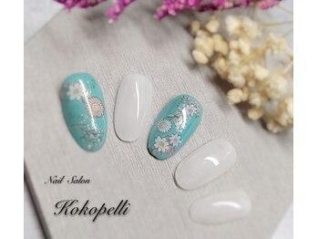 ココペリ(Nail Salon&School kokopelli)/フラワーシールネイル