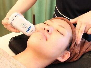 ルーメビューティーサロン泉(lume beauty salon)の写真/【名古屋希少の最新3Dハイフ(HIFU)】lume beauty自慢の神業小顔リンパとの組み合わせで最大リフトアップ★