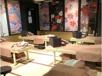 永山健康ランド竹取の湯 もみ処(東京都多摩市)