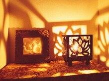 バリスパ ひだまり(Bali Spa)の雰囲気(落ち着く照明で南国バリ風プライベートサロン☆)