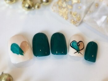 ネイルアンドアイラッシュ ブレス エスパル山形本店(BLESS)/キュートネイル