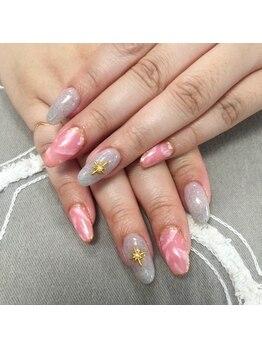 サロンドティアラ(salon de tiara)/ストーンネイル☆担当富樫