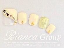 ビアンカ 池袋店(Bianca)/ななめヒョウ柄ネイル