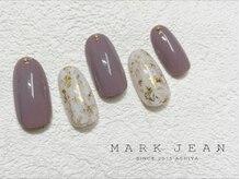 マークジーン 姫路(MARK JEAN)/マーブル ホイル ネイル