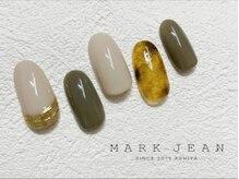 マークジーン 姫路(MARK JEAN)/べっ甲 ミラー カーキ ネイル