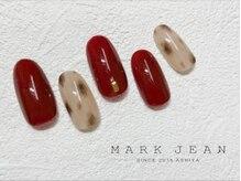 マークジーン 姫路(MARK JEAN)/ニュアンス レオパード ネイル