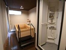 米ぬか酵素風呂 ヌッカ(Nucca)の雰囲気(シャワールーム完備しております♪)